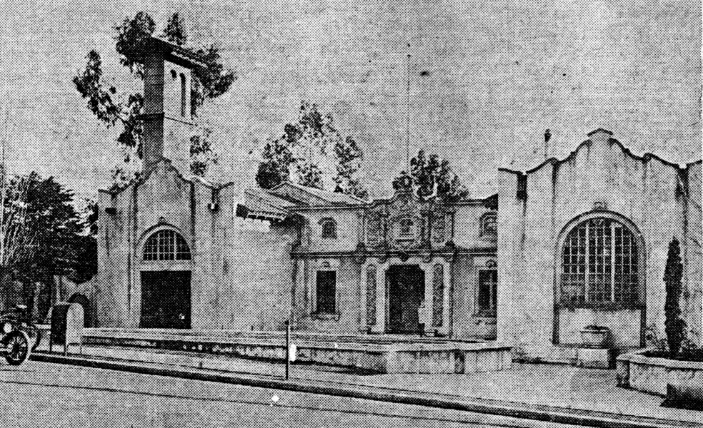 Piedmont City Hall, 1910